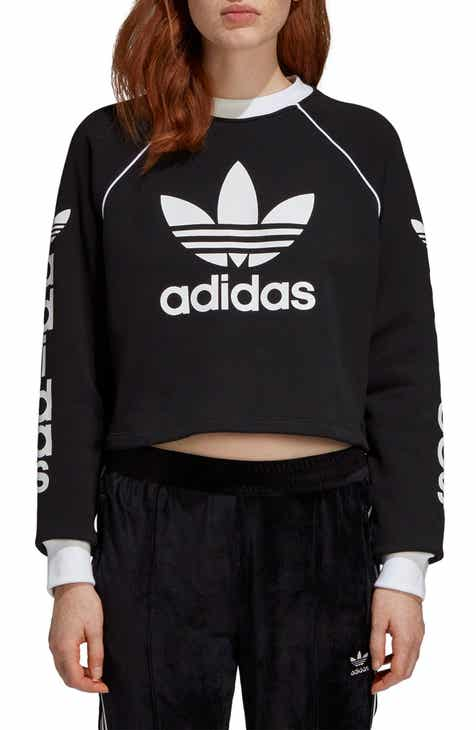 adidas Originals Crop Sweatshirt 1e5cfe4f7b