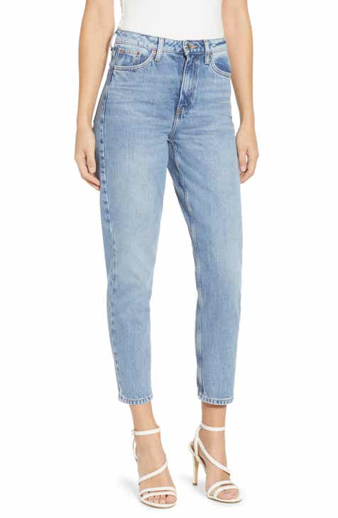 Topshop Autumn High Waist Mom Jeans (Regular & Petite) by TOPSHOP