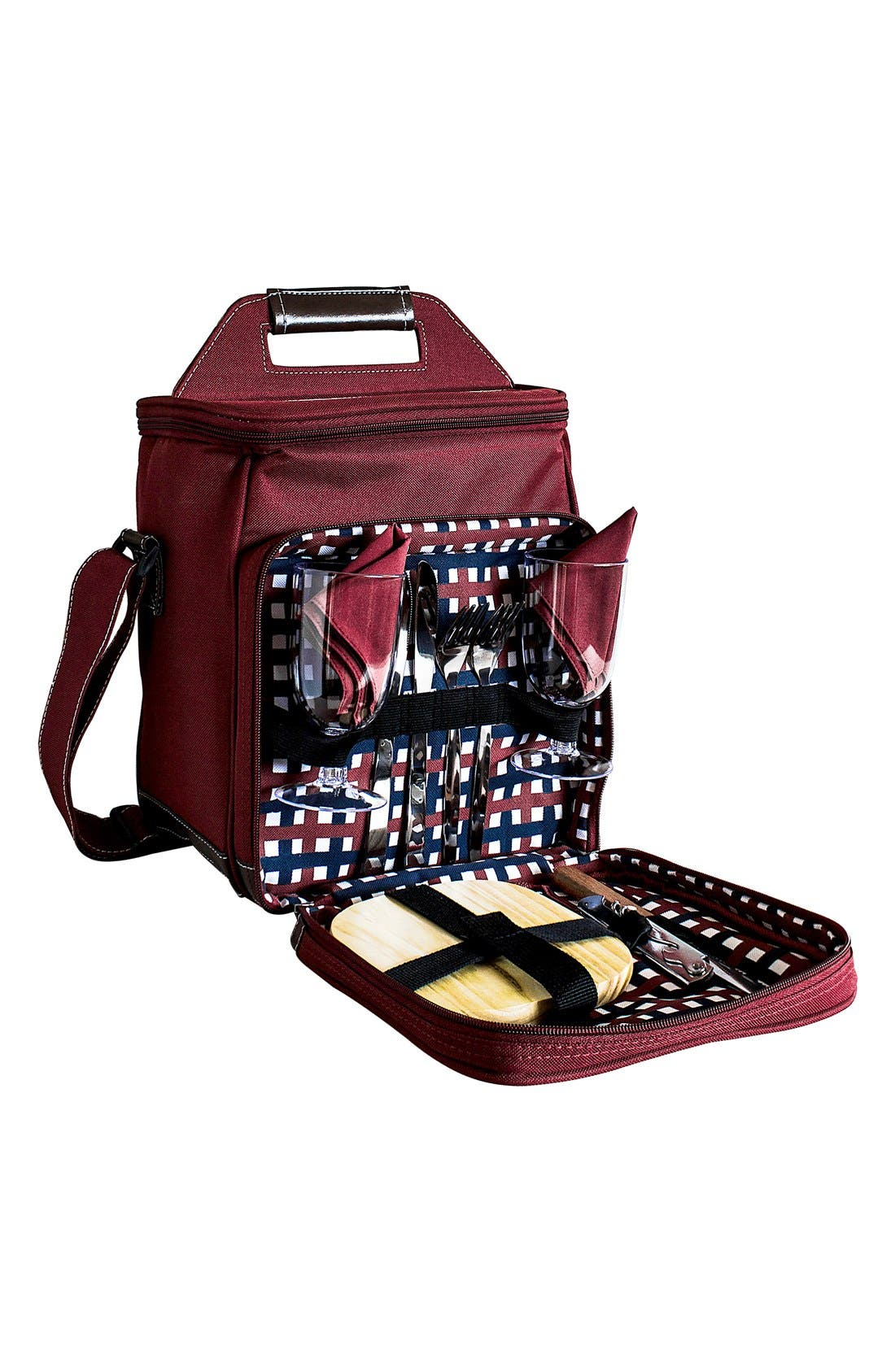 Alternate Image 2  - Cathy's Concepts Monogram Picnic Cooler