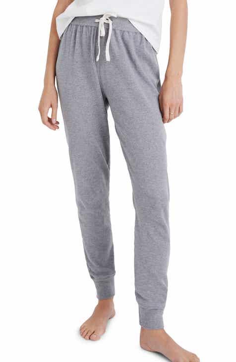 eecb8a7923 Madewell Honeycomb Pajama Sweatpants