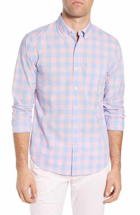33eb646b50f Bonobos Summerweight Slim Fit Check Sport Shirt