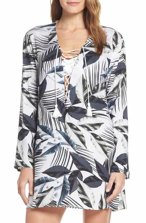 La Blanca Lace-Up Cover-Up Tunic by LA BLANCA