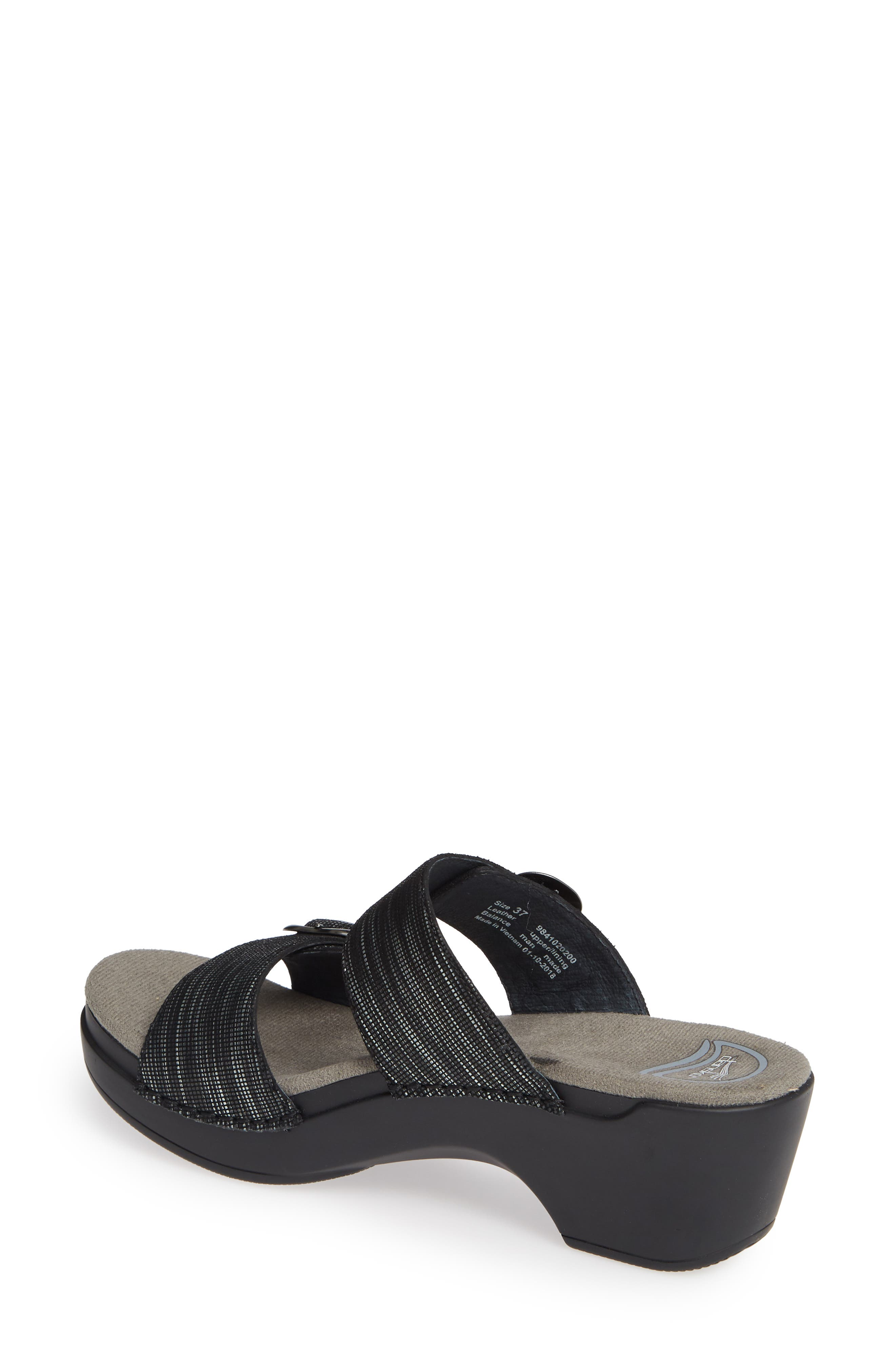 Wave London 10 Navy Sensi Sandals