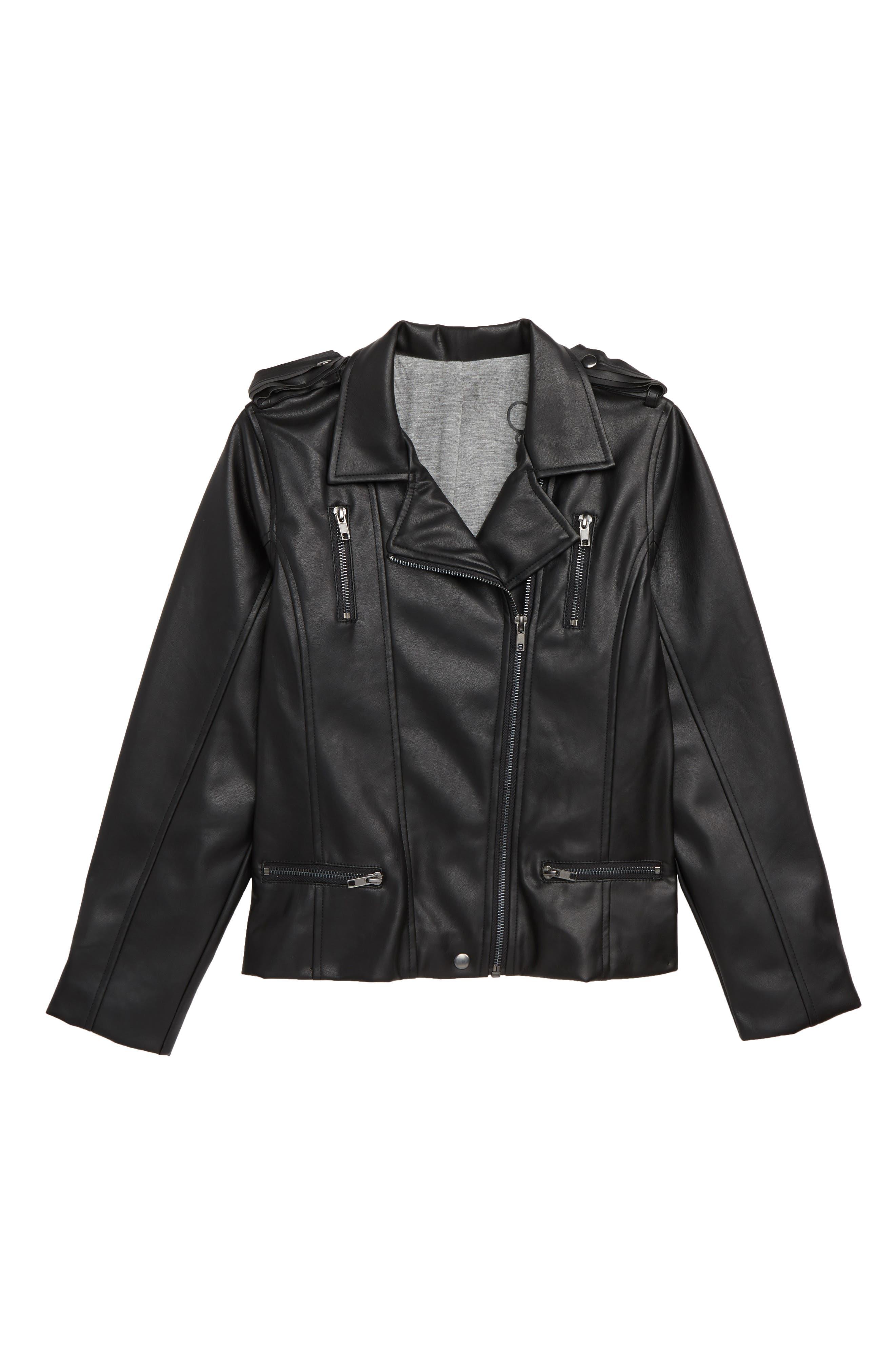 60a71f5c14c Leather jackets kids