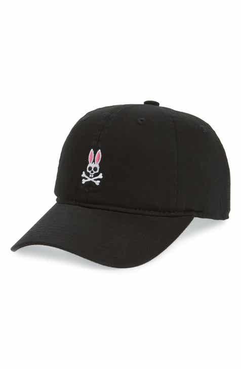 b2a4635ff56 Psycho Bunny Sunbleached Logo Ball Cap