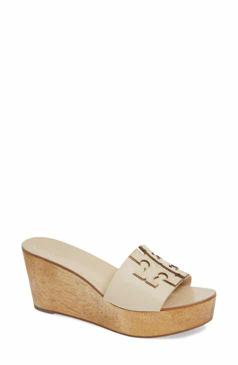 d3f243b61292b Tory Burch Ines Wedge Slide Sandal (Women)