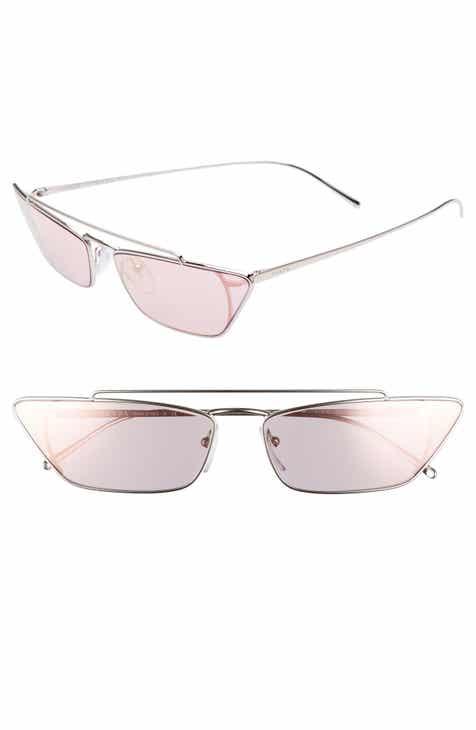 b8e9e17bdf7 Prada Ultravox 67mm Oversize Cat Eye Sunglasses