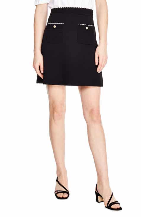 sandro Martin A-Line Skirt by SANDRO