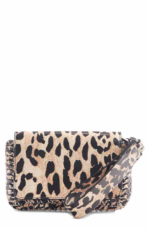 5d175ffb1219 paco rabanne Leopard Print Calfskin Leather Crossbody Bag