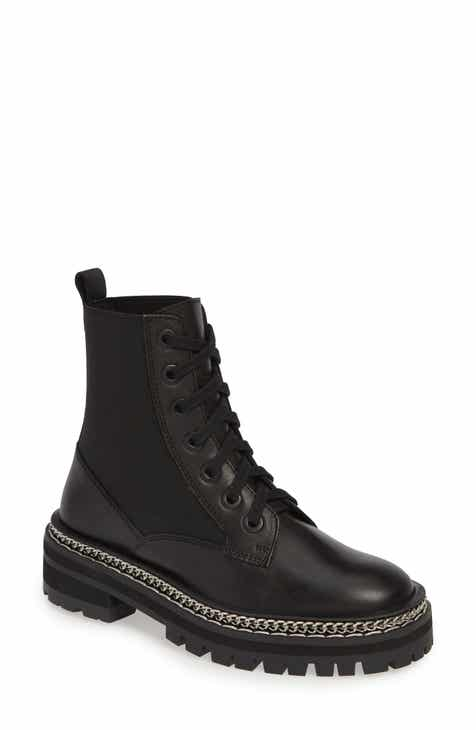 1fd3e3c49564 Topshop Ashton Chain Moto Boot (Women)