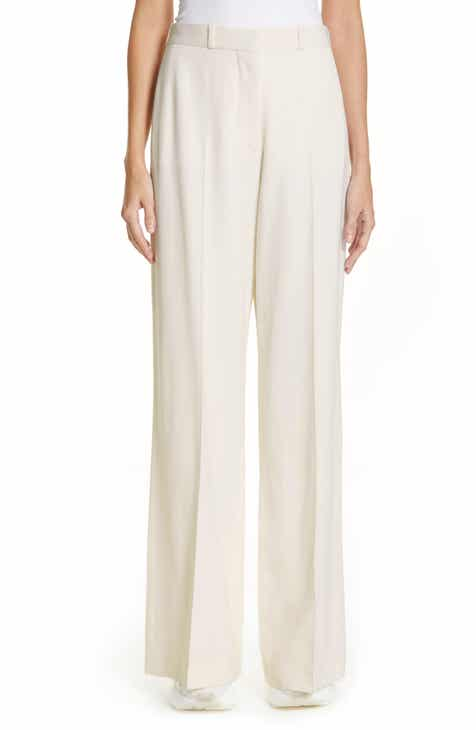 Stella McCartney Wide Leg Wool Pants by STELLA MCCARTNEY