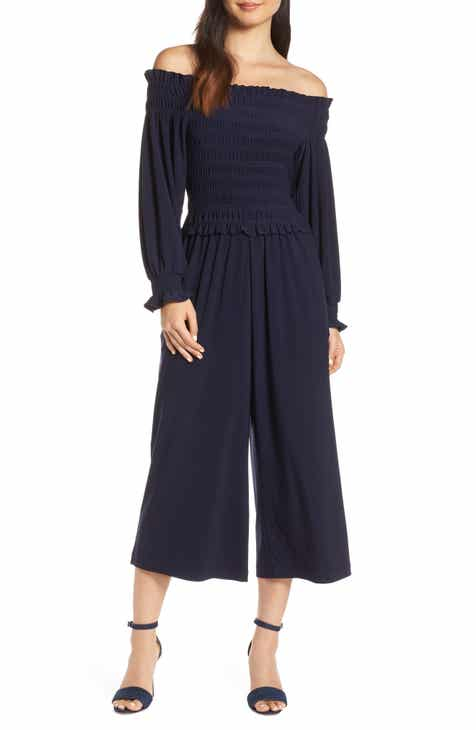 Eileen Fisher Belted Organic Linen Jumpsuit (Regular & Petite) by EILEEN FISHER