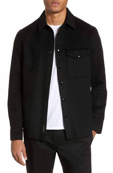 d3970bc987 Men s Shirt Jacket Coats   Jackets