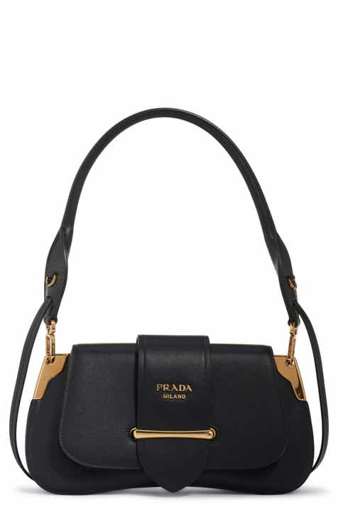 f359e54b5087 Prada Saffiano Leather Top Handle Bag