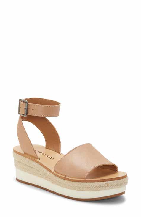 ff2acc873 Lucky Brand Joodith Platform Wedge Sandal (Women)