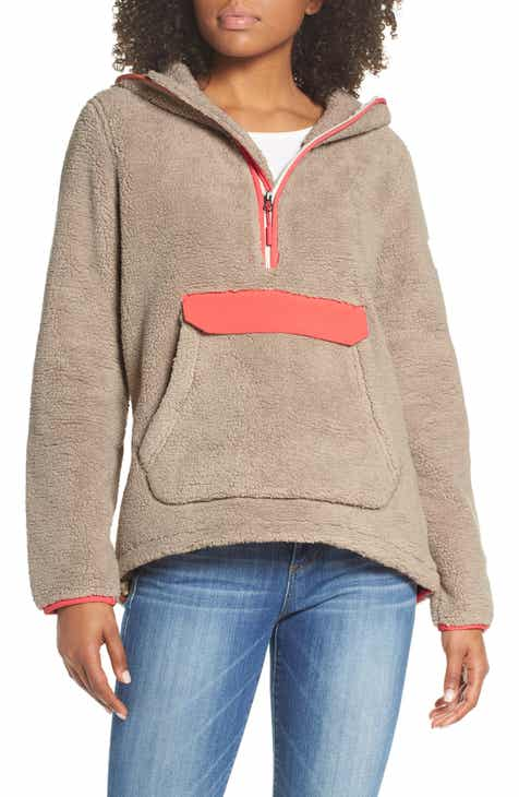 ff64619c0a The North Face Campshire High Pile Fleece Pullover Hoodie