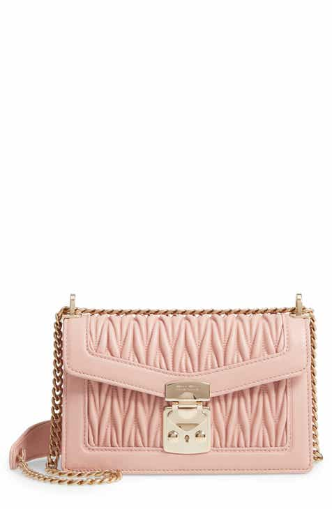8b37b7498f54 Miu Miu Matelassé Leather Crossbody Bag
