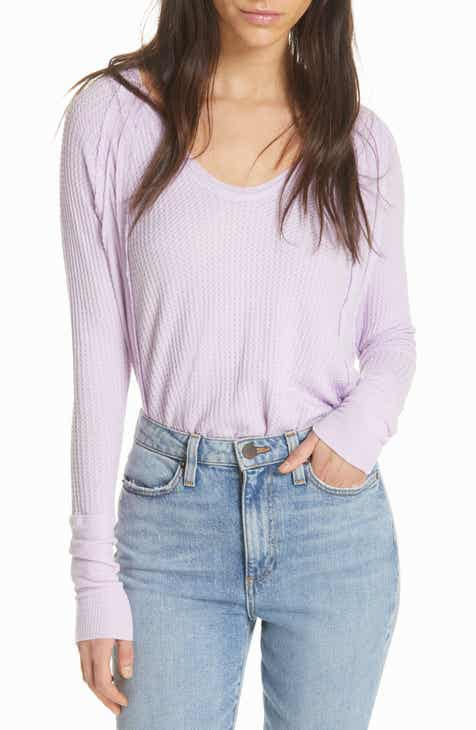 We the Free by Free People Catalina V-Neck Thermal Top c694b3d4d