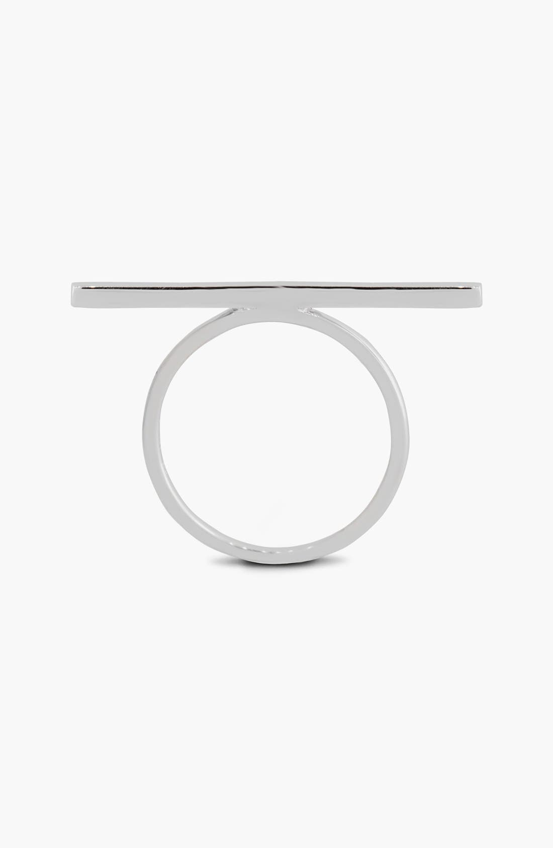 Alternate Image 2  - Bony Levy 14KT Bar Ring (Limited Edition) (Nordstrom Exclusive)