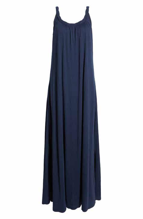 be3be1c5d3a Caslon® Twist Neck Maxi Dress (Regular & Petite)