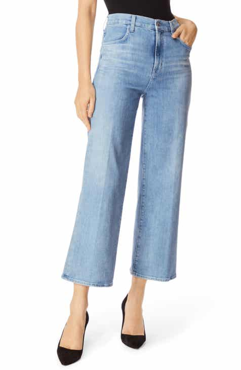 ac3c8358c65d J Brand Joan High Waist Crop Flare Jeans (Andromeda)