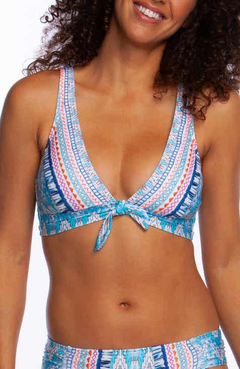 La Blanca Milano Tie Front Bikini Top by LA BLANCA