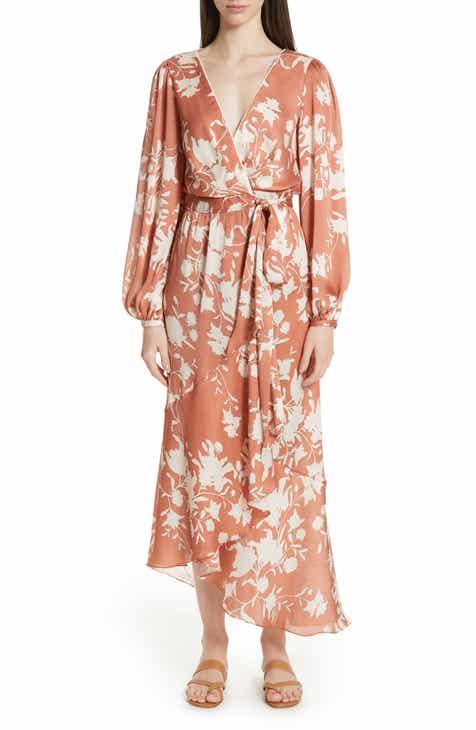 Johanna Ortiz The Greatest Land Floral Print Wrap Dress