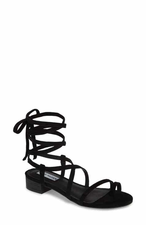 9154abb1ae0d Steve Madden Adrenaline Lace-Up Sandal (Women).  79.95. Product Image