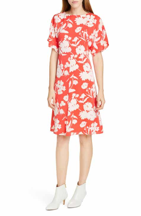 vineyard vines Scallop Dot Wrap Dress by VINEYARD VINES