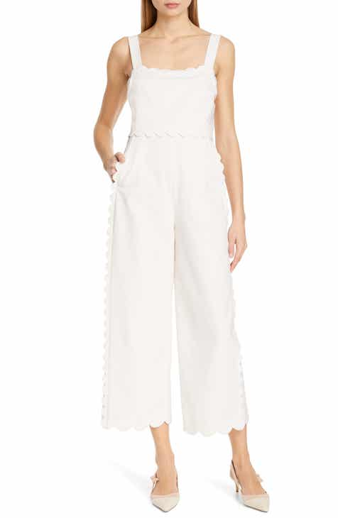 PAIGE November Sleeveless Lace-Up Jumpsuit by PAIGE