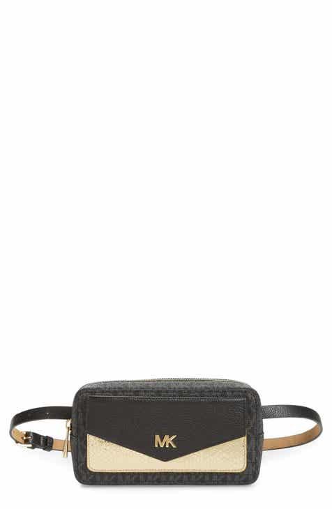 38ddd3848e75 MICHAEL Michael Kors Logo Belt Bag