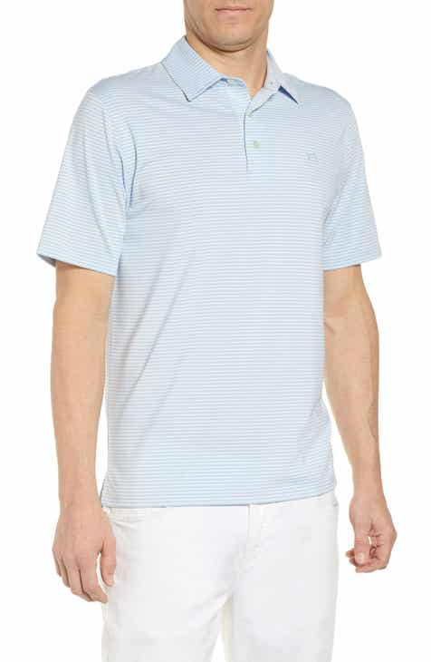 431ef3f2c Southern Tide Tryall Regular Fit Stripe Performance Polo