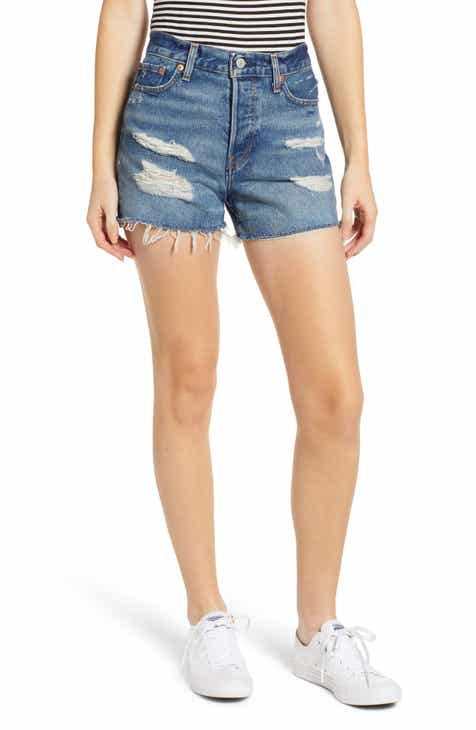 e441511f513 Levi s® Wedgie Update High Waist Cutoff Denim Shorts (Balancing Act)