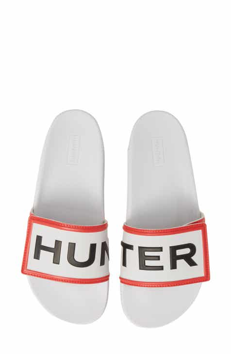 2256f219be736 Hunter Original Adjustable Logo Slide Sandal (Women)