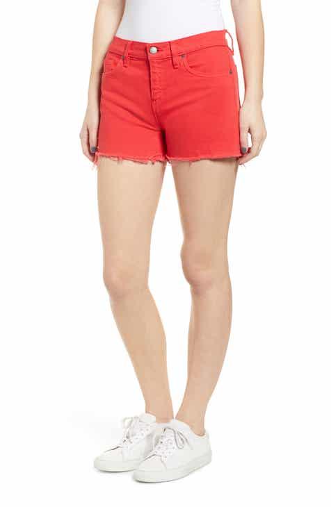 44207abb505b Hudson Jeans Gemma Cutoff Denim Shorts