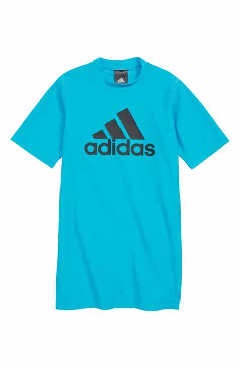 adidas Originals Trefoil Swim T-Shirt (Big Boys)