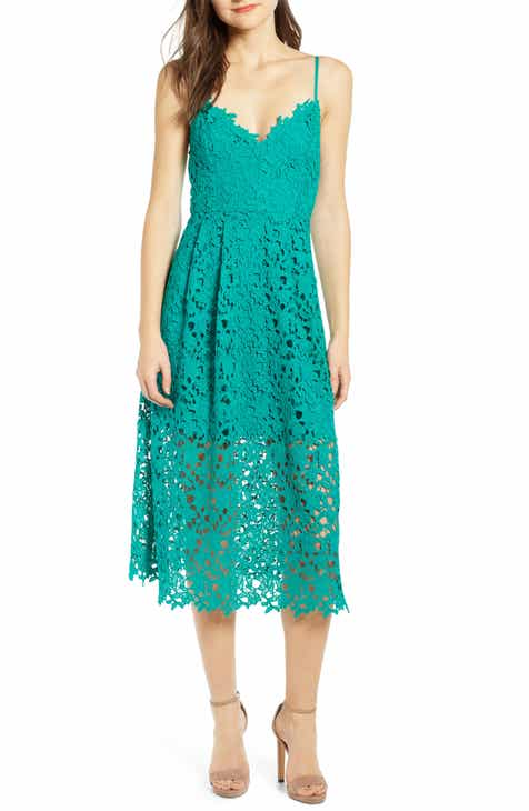 53be7b6c ASTR the Label Lace Midi Dress