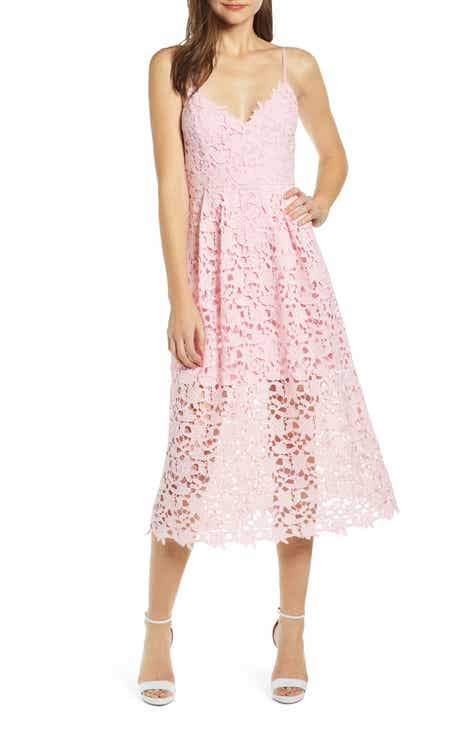 ASTR the Label Lace Midi Dress 40bbbe51f