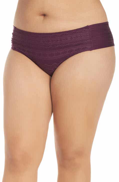 c6b73a11f9b57 Becca Etc. Color Play Bikini Bottoms (Plus Size)