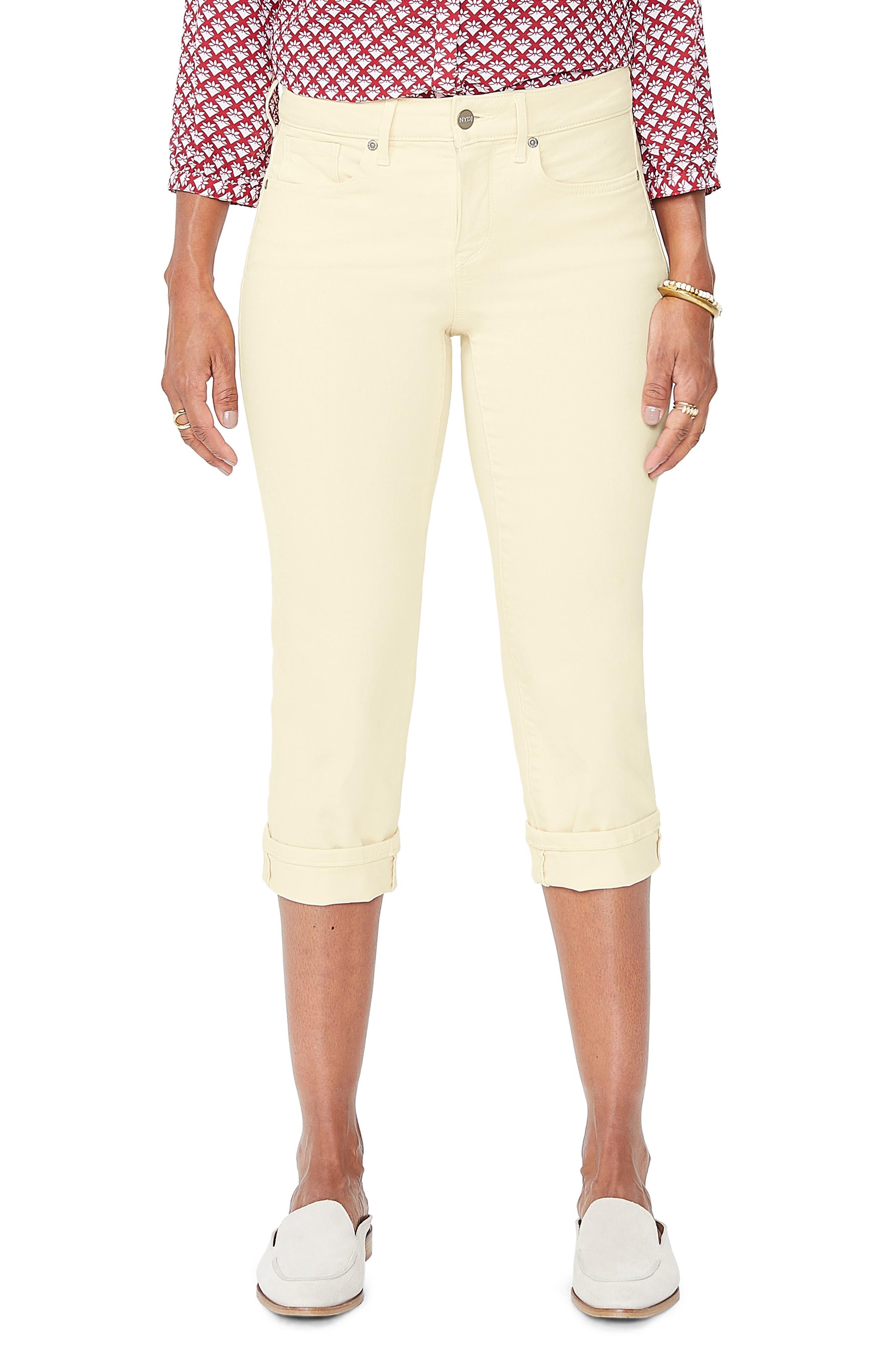 Mixed Intimate Items New Fashion Nydj Womens 12 Petite Khaki Jean Bermuda Shorts