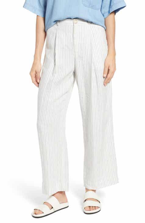 a8ed26dab99c4 Lou   Grey Skyline Cotton Wide Leg Pants