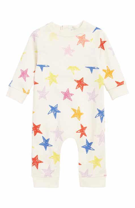 f1c2cc425f1 Stella McCartney Stars Print Cotton Romper (Baby)
