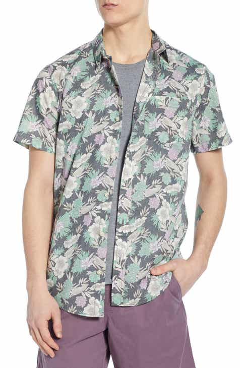 5fd9ed4a70b The Rail Floral Woven Shirt