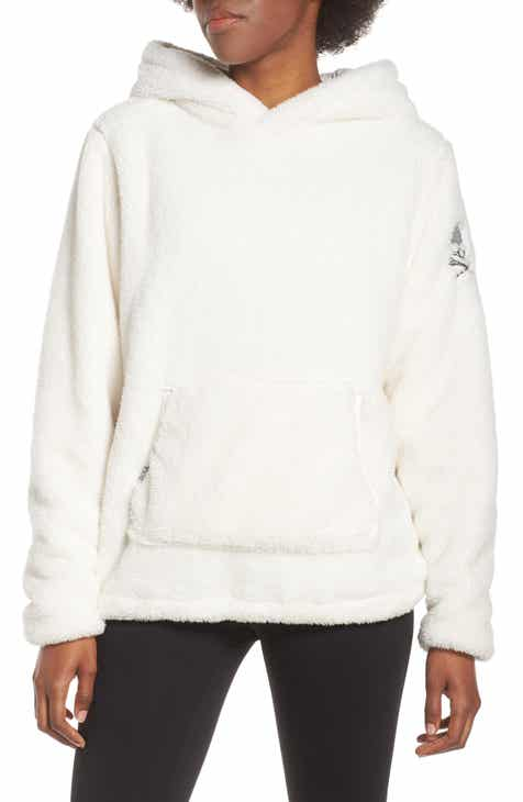 Soul By SoulCycle Reversible Faux Shearling Hoodie By SOUL CYCLE by SOUL CYCLE Modern