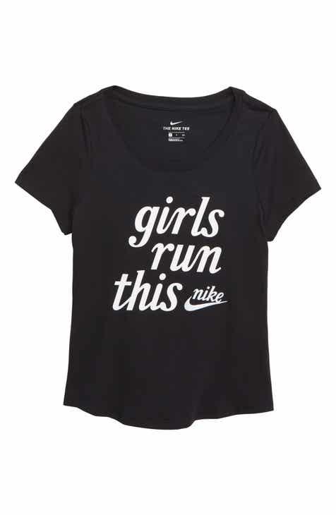 80b423b0e8b7 Nike Girls Run This Tee (Big Girls)