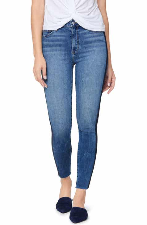 20f31b82b1eb2a Sam Edelman The Stiletto Side Stripe High Waist Ankle Skinny Jeans (Jackson)