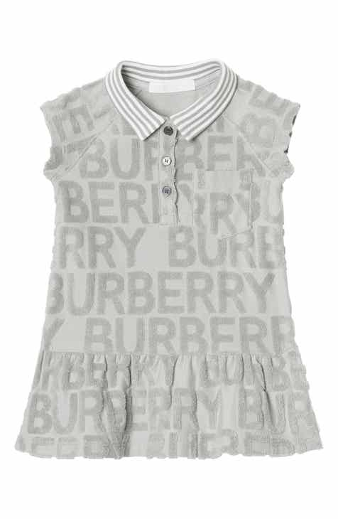 b29d66e5e92d Burberry Brigitta Knit Polo Dress (Baby)