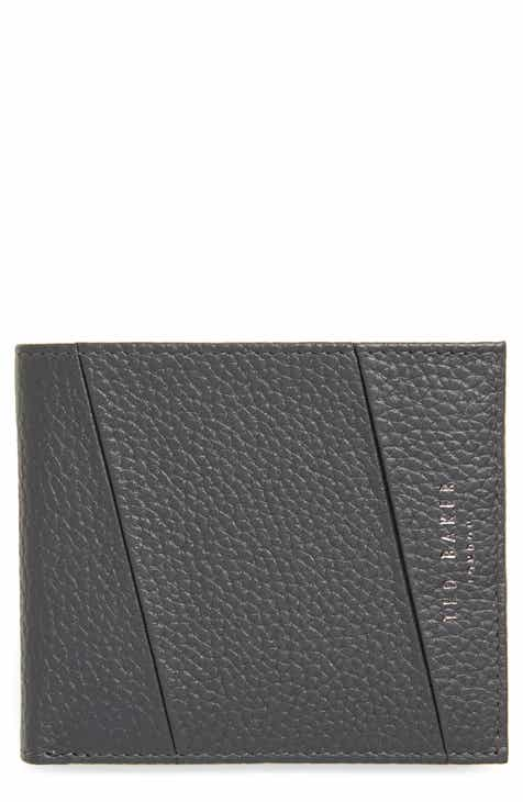 88464e0072da Ted Baker London Seamed Leather Bifold Wallet