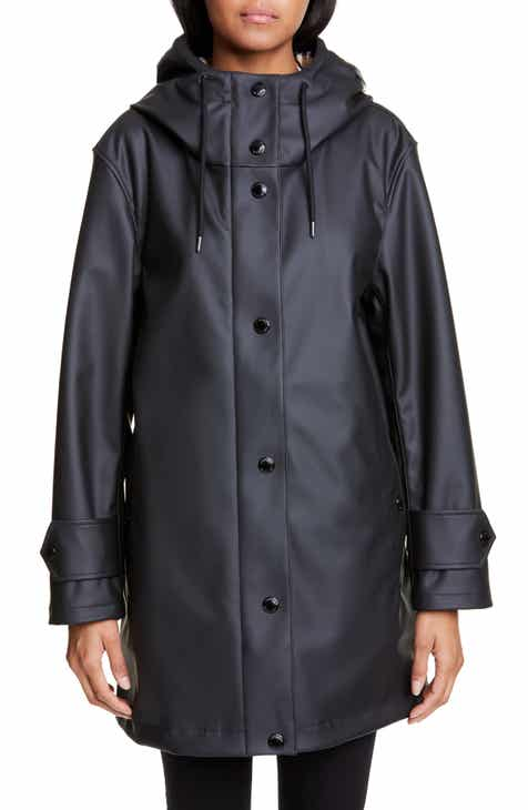 9633e81c22a Burberry Hartlebury Coated Rain Coat