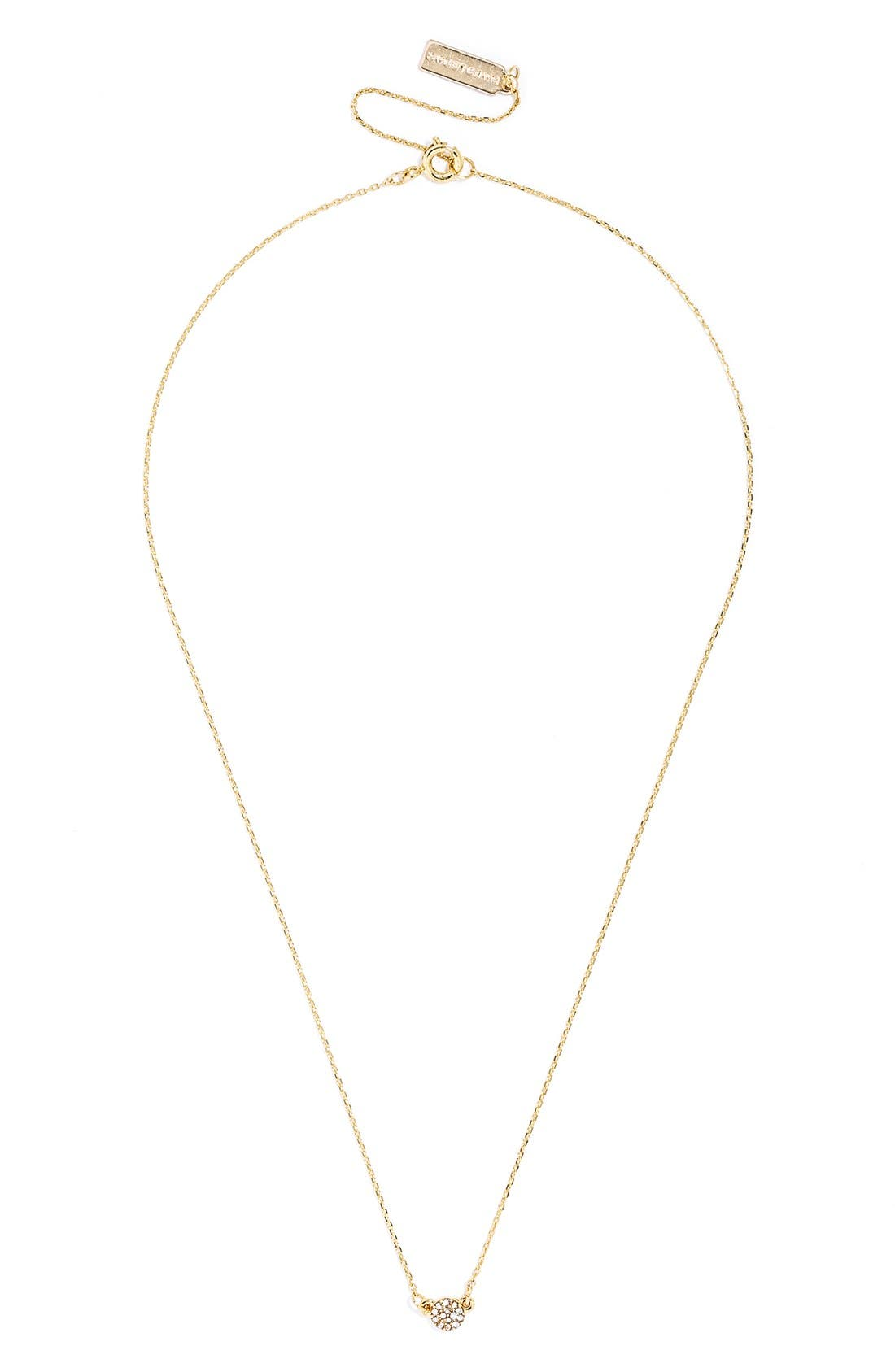 'Pyramid' Layered Necklace Gift Set,                             Alternate thumbnail 4, color,                             Gold